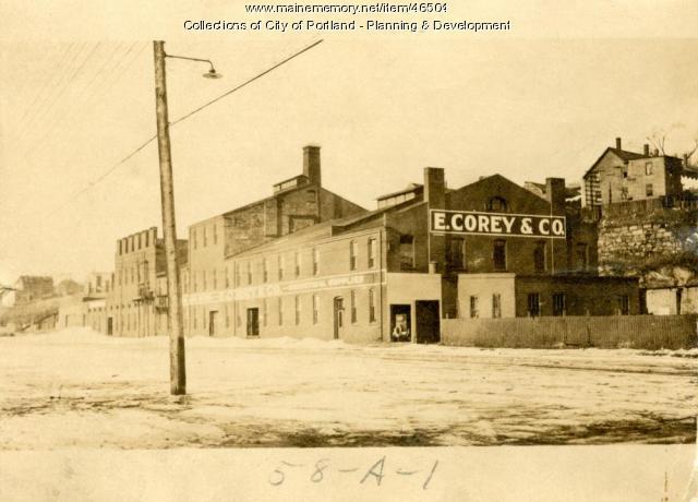 59-89 West Commercial Street, Portland, 1924