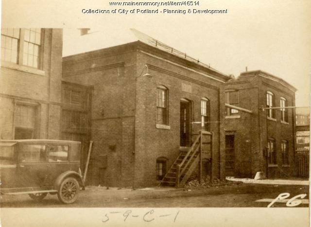 2-40 Commercial Street, Portland, 1924