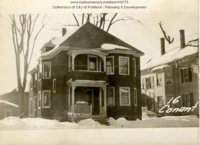 18 Conant Street, Portland, 1924