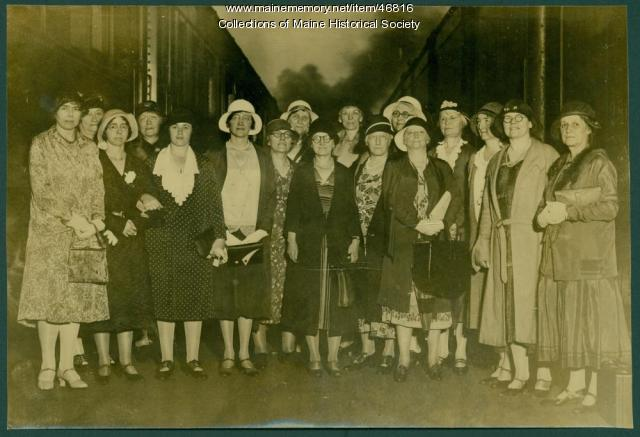 Business and Professional Women's Club delegates, 1931