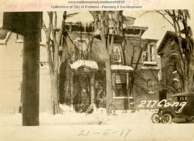 277 Congress Street, Portland, 1924