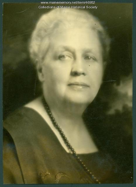 Mary L. Thompson, Portland, ca. 1930