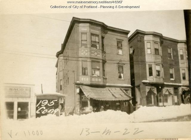 195 Congress Street, Portland, 1924