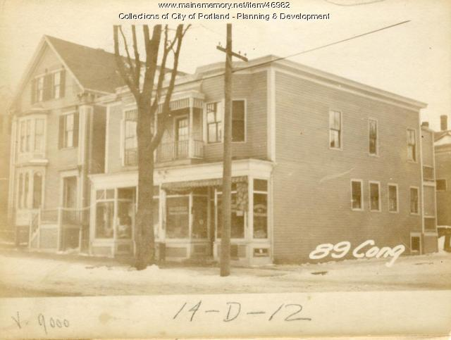 89 Congress Street, Portland, 1924