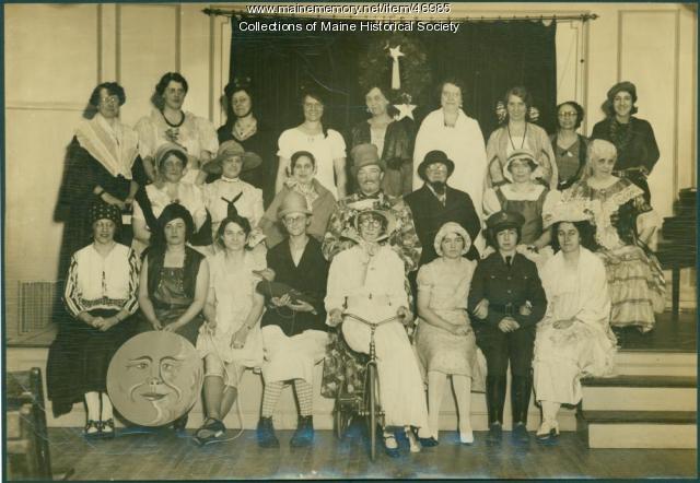 BPW Glee Club, Portland, 1931