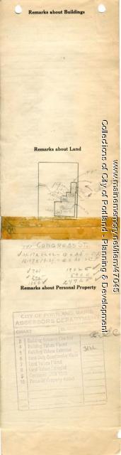 145-149 Congress Street, Portland, 1924