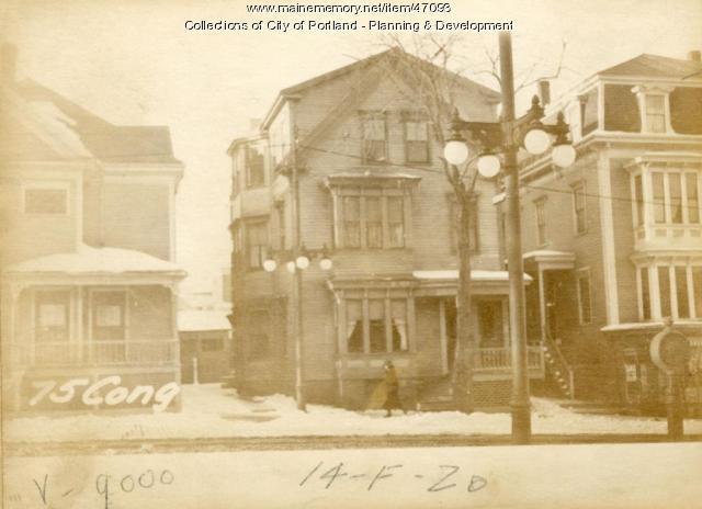 75 Congress Street, Portland, 1924