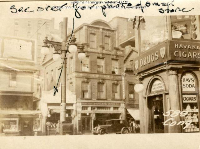 589 Congress Street, Portland, 1924