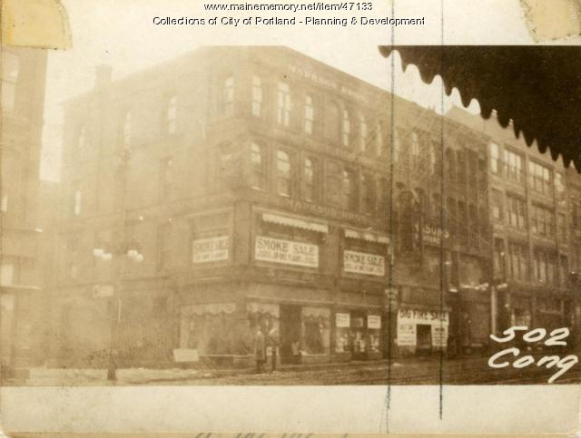 506 Congress Street, Portland, 1924