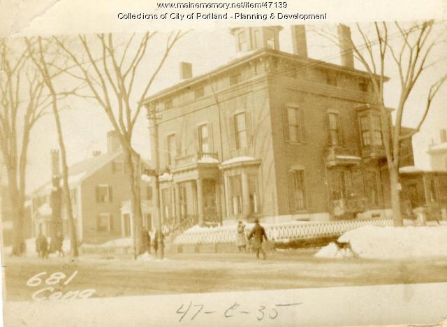 679-683 Congress Street, Portland, 1924