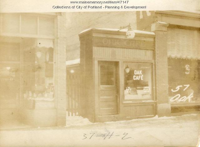57 Oak Street, Portland, 1924