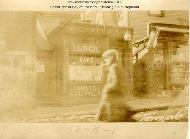 54 Temple Street, Portland, 1924