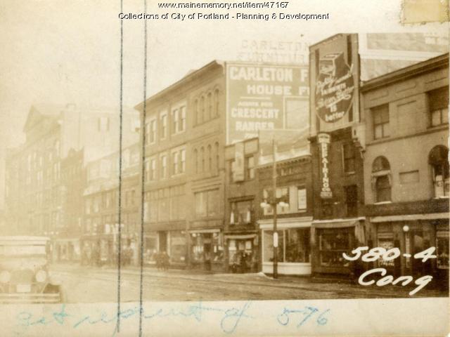 578 Congress Street, Portland, 1924
