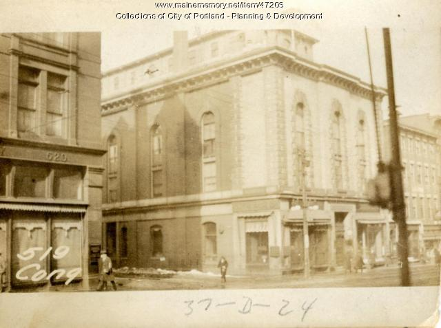 517-519 Congress Street, Portland, 1924