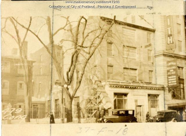 479-481 Congress Street, Portland, 1924
