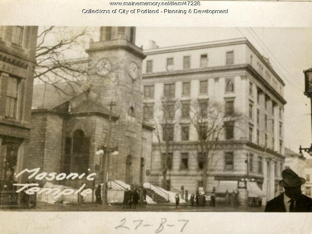 413-421 Congress Street, Portland, 1924