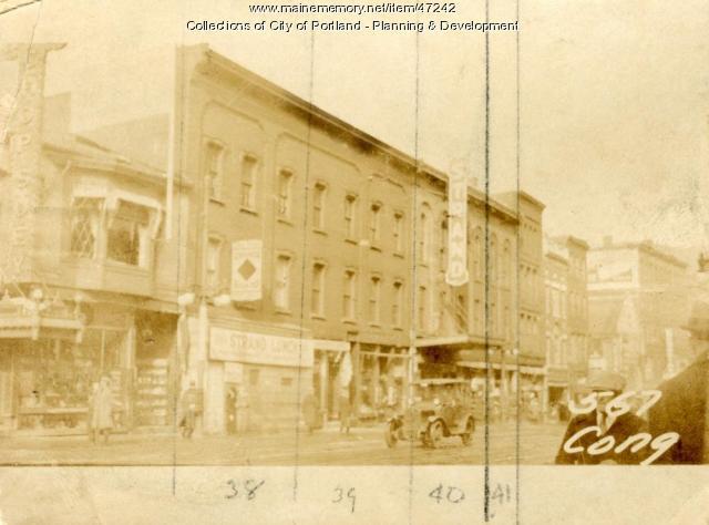 565 1/2-567 1/2 Congress Street, Portland, 1924