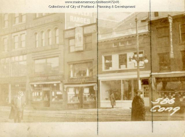 588 Congress Street, Portland, 1924