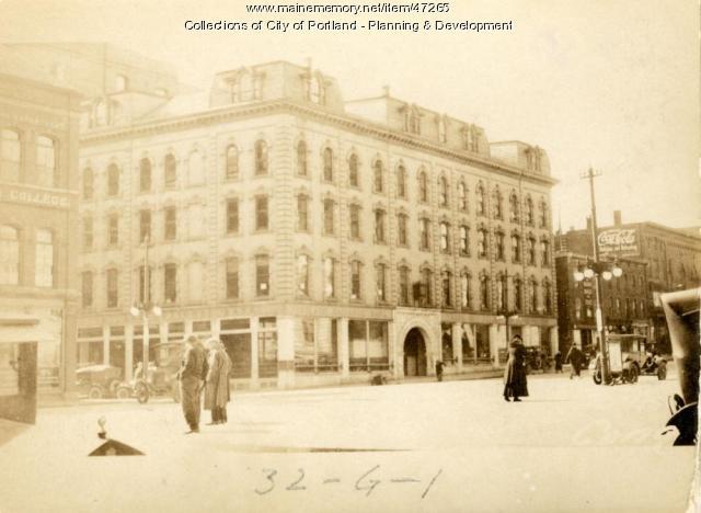 394-402 Congress Street, Portland, 1924