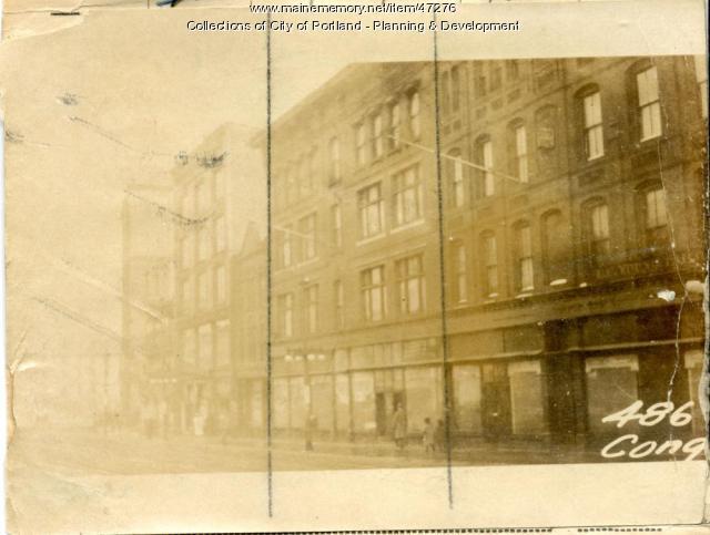 488-494 Congress Street, Portland, 1924