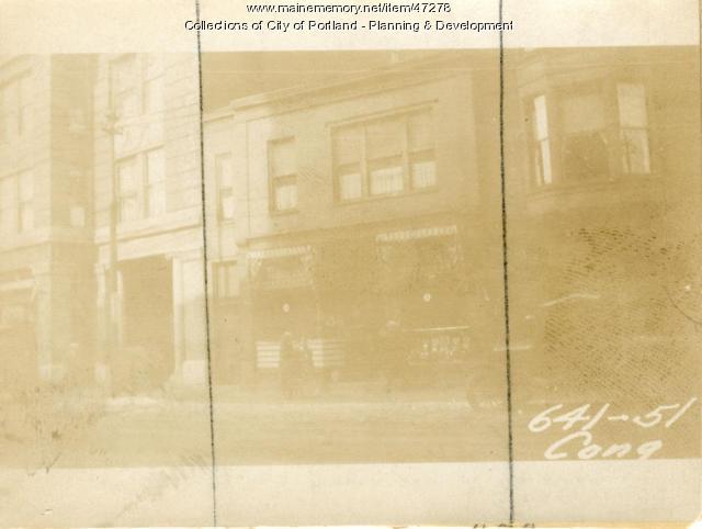 653 Congress Street, Portland, 1924