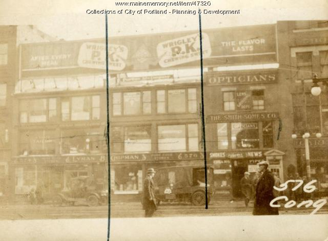 576 Congress Street, Portland, 1924