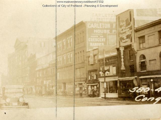 580-582 Congress Street, Portland, 1924