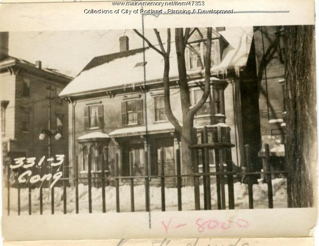 331 Congress Street, Portland, 1924