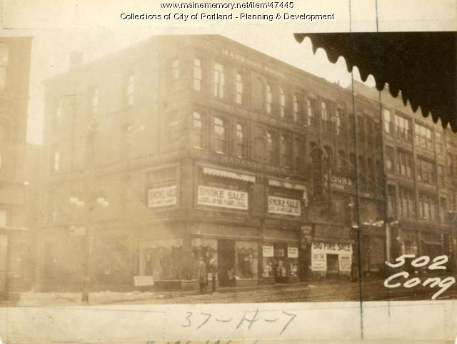 508 Congress Street, Portland, 1924