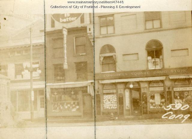 590 Congress Street, Portland, 1924