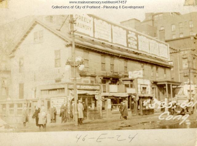 595-601 Congress Street, Portland, 1924