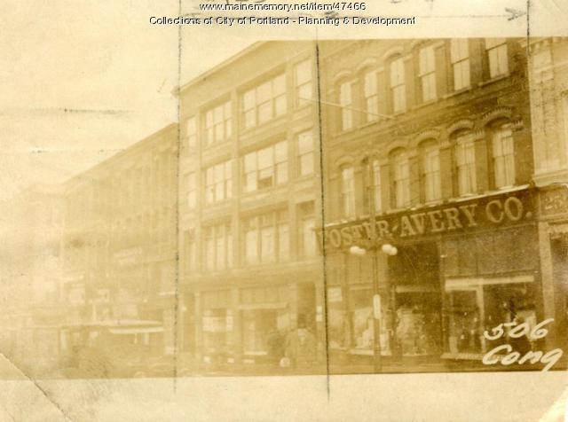 510-512 Congress Street, Portland, 1924