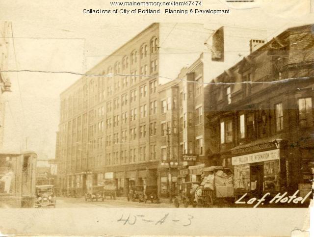 632-652 Congress Street, Portland, 1924
