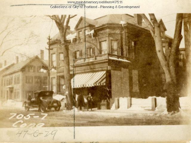 707 Congress Street, Portland, 1924
