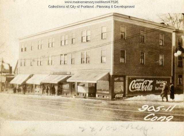 905-911 Congress Street, Portland, 1924
