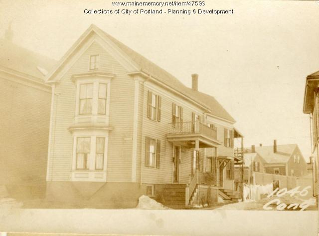 1044-1046 Congress Street, Portland, 1924