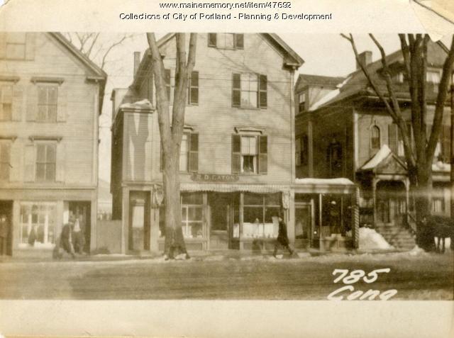 783-785 Congress Street, Portland, 1924