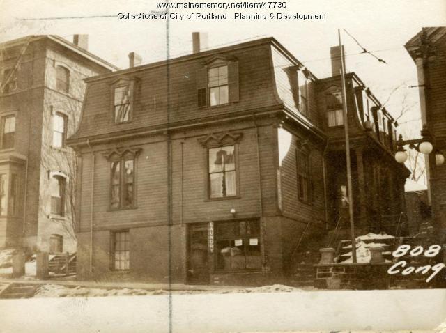 808 Congress Street, Portland, 1924