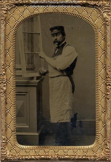 Glazier, ca. 1865