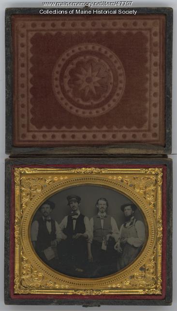 Porter family, Rockland, ca. 1857