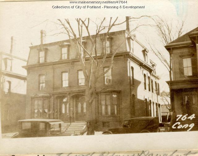 764-768 Congress Street, Portland, 1924