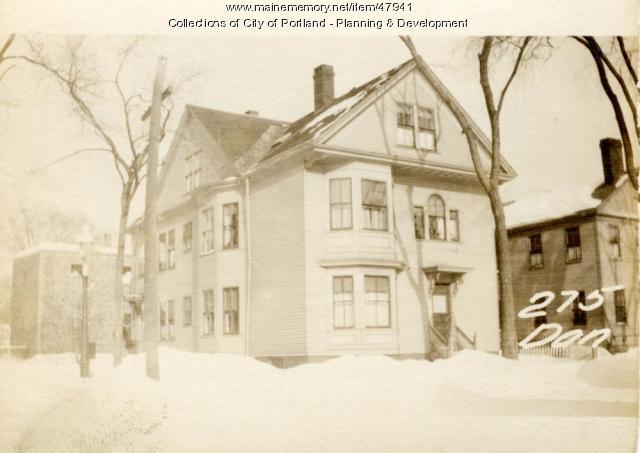 275 Danforth Street, Portland, 1924