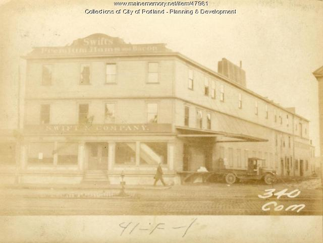336-338 Commercial Street, Portland, 1924