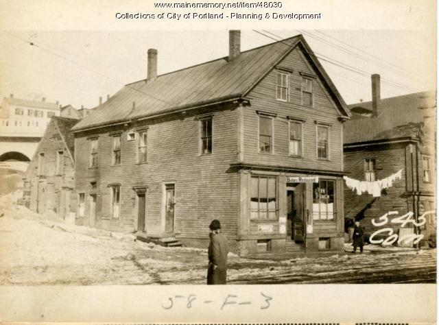 545-547 Commercial Street, Portland, 1924