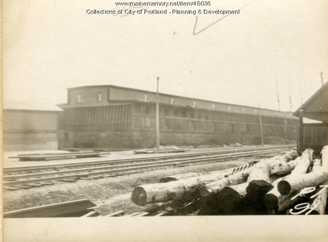 519-595 Danforth Street, Portland, 1924