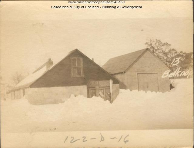 2 Mason proposed, Portland, 1924