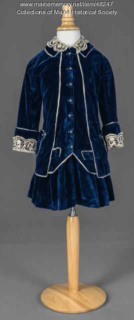 Henry Howe Richards outfit, Gardiner, 1885
