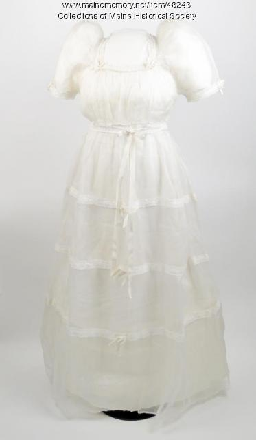 Elaine Robinson Mitchell wedding dress, Peru, 1939