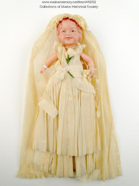 Wedding decoration doll, Peru, 1939
