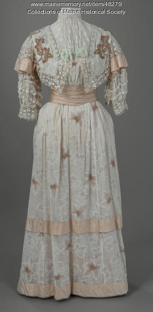 Mary King Scrimgeour dress, Lewiston, ca. 1895